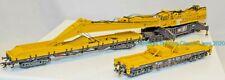 Marklin 49950, HO Scale, Krupp 'Goliath' 160 ton railroad crane 3 vehicle set