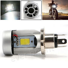 20W H4 COB LED Motorcycle Bike Motor Hi/Lo Headlight Fog Light Bulb Built-in fan