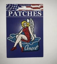 WW2 ARMY AIR CORPS PATCH NOSE ART ANGEL PIN UP