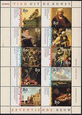 NEDERLAND 1999 / NVPH V1826-1835 / NEDERLANDSE SCHILDERKUNST / POSTFRIS MNH ***