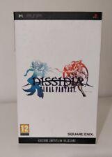 PSP PAL ITALIANO FINAL FANTASY DISSIDIA _LIMITED COLLECTOR'S Italiano EDITION!!