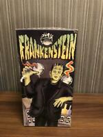 Universal Monsters Frankenstein Spring Walking Figure Tin Plate Toy Japan