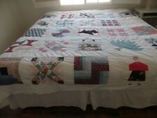 Handmade Quilt quilted Duvet Cover King Size 90 x 94