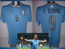 Uruguay Luis Suarez Puma Shirt Jersey Soccer Adult Medium Barcelona Top Home
