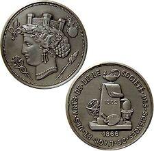 Médaille en bronze : Société des Sciences de l' agr et des arts de Lille 1866