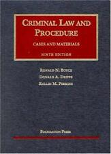 Criminal Law And Procedure  - by Dripps