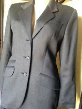 Laura Ashley vintage suit pure new wool as new 10 12 work career fully tailored