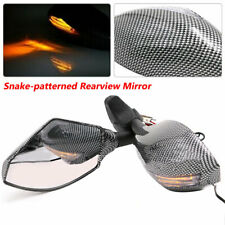 Fit for Honda / Kawasaki Motorcycle Modified Mirror Rear View Mirror LED lights