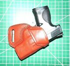 """Tagua MBH-362 AMBI Leather SOB Holster 3.4"""" Ruger SR9 Compact S&W M&P Compact"""