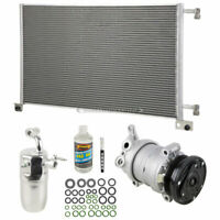 A/C Kit w/ AC Compressor Condenser Drier For Chevy Silverado 1500 2500 HD