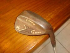 """Callaway X Series C-Grind 58 Degree Forged Wedge Steel 58/10 Golf """"EXCELLENT"""""""