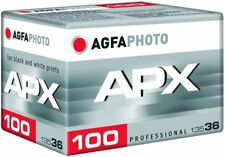 Agfa APX 100 36 Exposure Pro Black and White Negative 35mm Film