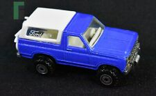 Vintage Deadstock Hot Wheels 1980 Met. Blue Ford Bronco with White Topper