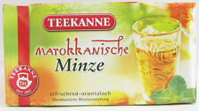 Teekanne Moroccan mint Tea - 20 tea bags- Made in Germany