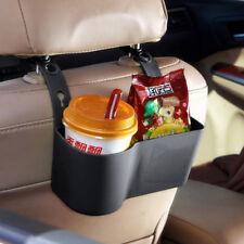 1x Car Seat Back Cup Drink Bottle Stand Storage Box Holder Mount Organizer Black