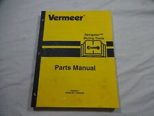 Vermeer Navigator Boring Tools Parts Catalog Manual 105400 T09 900