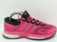 Adidas Response Boost M29725 Pink Textile Sports Trainers Women Size UK 6 Eur 39