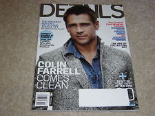 COLIN FARRELL COMES CLEAN November 2012 DETAILS MAGAZINE