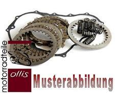 Complete clutch (plate + spring set) + clutch cover gasket - Kawasaki KMX 200