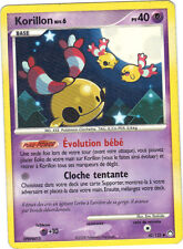 Pokemon n° 42/123 - KORILLON niveau 6 - PV40