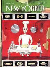 New Yorker COVER - 06/17/1991 Pasta Chef - OSBORN YOUNG