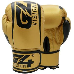 Cowhide Leather Boxing Gloves Training Sparring Punch Bag Punching Gym kick Gym