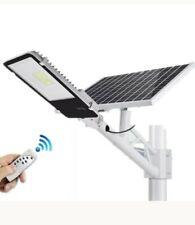 Solar Powered Street Light 100W LED Outdoor Garden Solar Lamp Remote