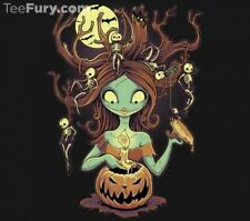 Nightmare Before Christmas Sally Tim Burton TeeFury Shirt - MM Mens Medium