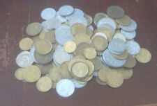 France 117 pre-Euro coins mixed job lot ideal for French restaurant decor etc