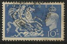 KG V1 1951 10 Shilling  Used Sold as Per Scan Lot 3