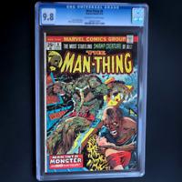 MAN-THING #8 (Marvel 1974) 💥 CGC 9.8 💥 SCARCE! MIKE PLOOG CVR & ART