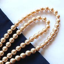 Filo di Perle - 5 mm - 100 pezzi color Crema
