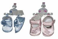 Baby Girl Shoes Pink With My Special Day Embroidery
