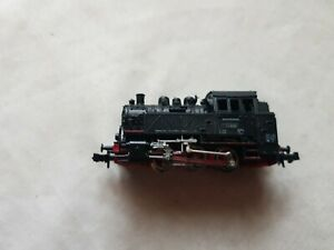 A Model German 0-6-0 Steam Locomotive In N Gauge By Roco Box Non Runner Boxed