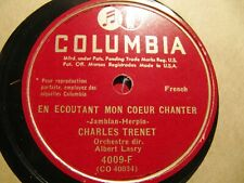 New listing Charles Trenet French Chanson Formidable/ En ecoutant mon Coeur chanter Lasry