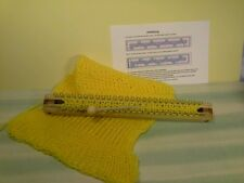 Strickstab mit 42 Haken & Stricknadel Strickliesel stricken leicht gemacht