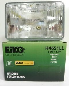 EIKO Long Life Sealed Beam Light Bulb H4651LLC1 for H4651 H4651LL