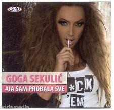 GOGA SEKULIC CD Ja sam probala sve Album 2011 Nagrada i kazna Muska lutka Balkan