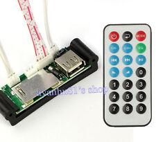 5V-12V Usb/Sd/Mmc Mp3 Wav Aux Amplifier Decoder Board Decoding Module Rc Control