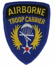 Airborne Troop Carrier Paratrooper Army 3 Inch Cap Hat Patch F1D21P