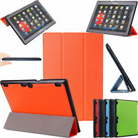 For Lenovo Tab 3 10.1 Inch TB-X103F Slim Smart Magnetic Stand Leather Case Cover