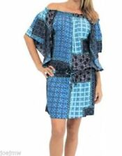 Patchwork Casual Plus Size Dresses for Women