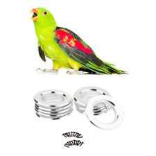 10Pc Bird Breeding Box DIY Screw Ring Kits Fitting Nesting Anti-bite Ring