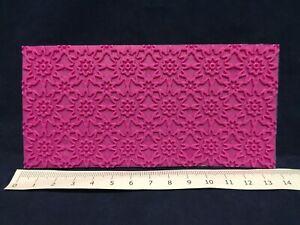 Lace Impression Mat Cake Icing Fondant Embossing Pattern Tool Sheet Mould Mold