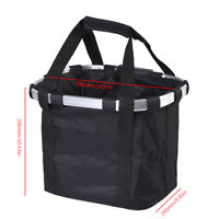 Bike Part Front Basket Pet Dog Carrier Large Capacity Waterproof Handlebar Bag