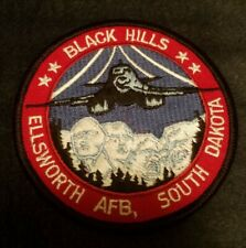 Ellsworth AFB B-1B Lancer Patch with Mt. Rushmore