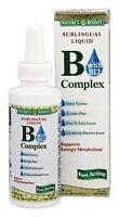Nature's Bounty Vitamin B Complex Sublingual Liquid 2 Oz