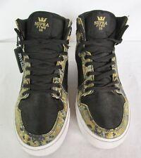 Men 10.5 SUPRA FTWR CO Camo Digital Design Athletic Lace Up Ankle Shoes