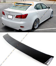 FOR 2006-13 LEXUS IS 250/350/ ISF VIP PAINTED GLOSSY BLACK REAR ROOF TOP SPOILER