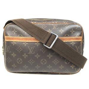 100% Authentic Louis Vuitton Monogram Reporter PM M45254 [Used] {07-010B}